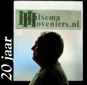 Halsema Hoveniers 20 jaar